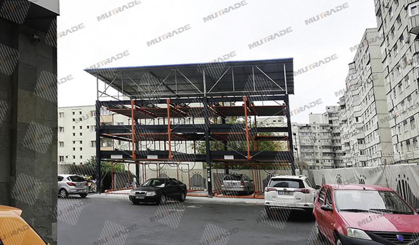 Dự án Mutrade cho bãi đậu xe khách sạn ở Romania